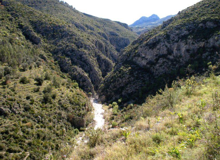 Vistas del Barranco del Infierno