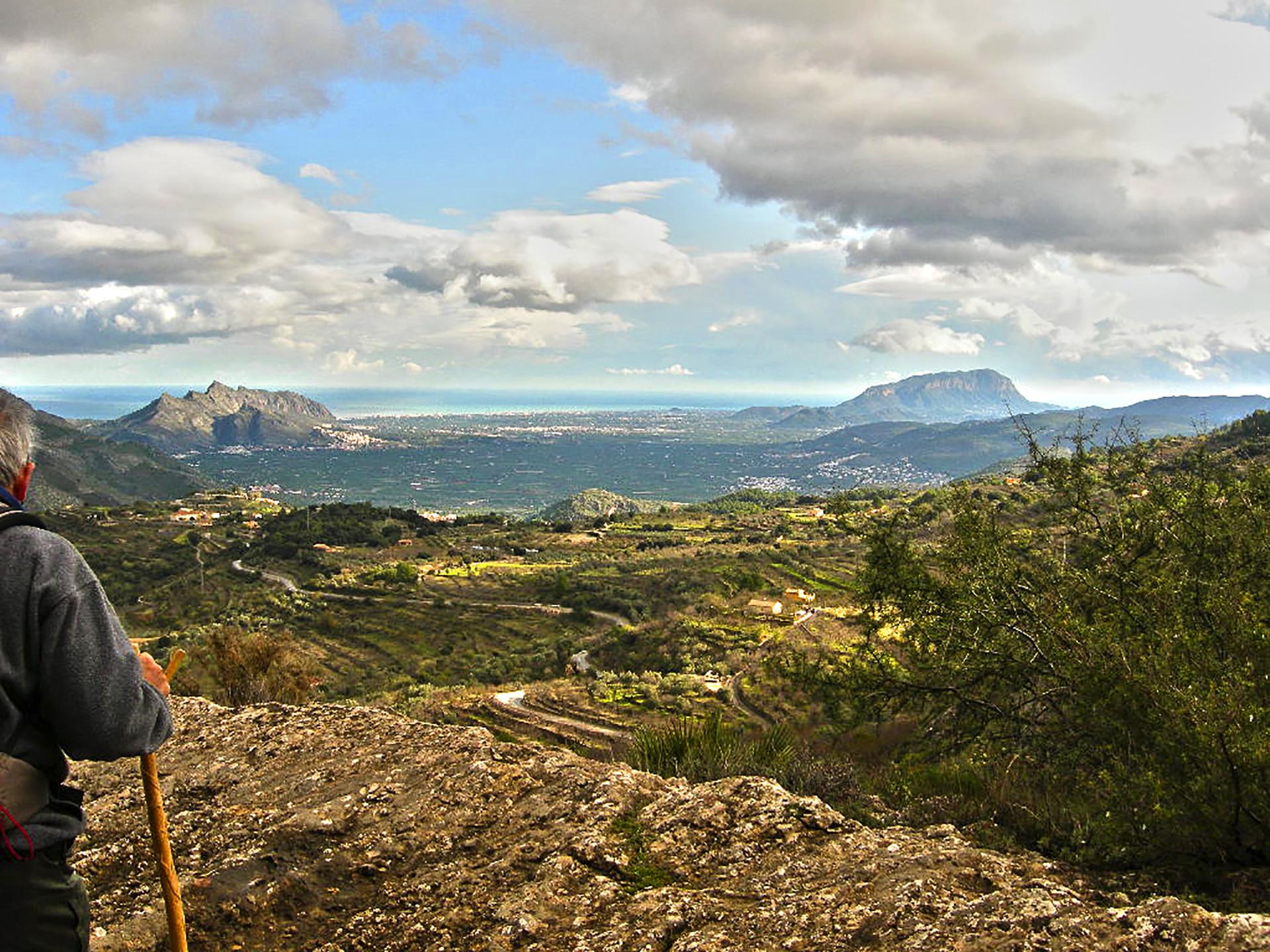 Vistas desde la Vall de Laguar